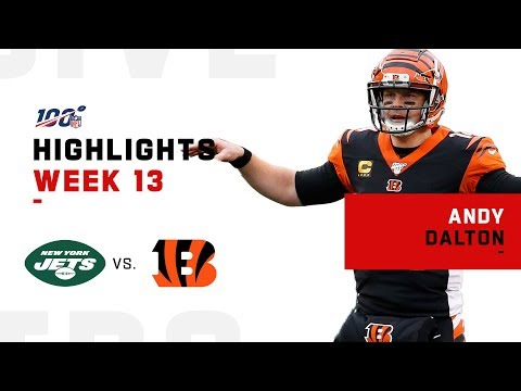 Andy Dalton Flies High To Lead Bengals To 1st Season Victory   NFL 2019 Highlights
