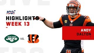 Andy Dalton Flies High to Lead Bengals to 1st Season Victory