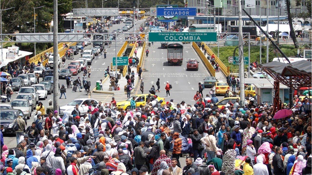 Resultado de imagen para venezuela fronteras migración