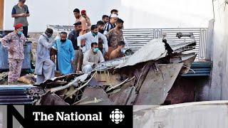 Dozens Dead After Pakistan International Airlines Crash In Busy Karachi Neighbourhood
