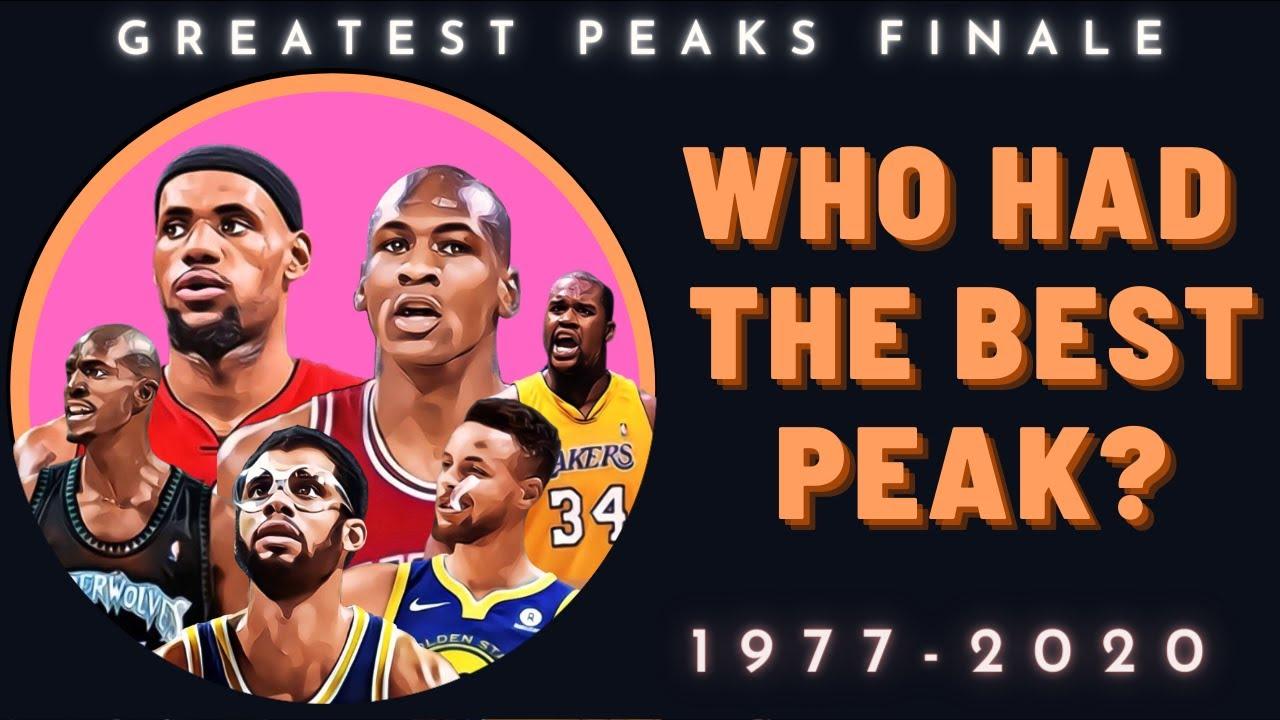 The 10 Best NBA peaks since 1977