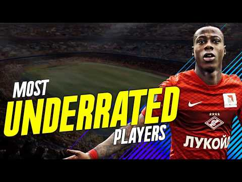 THE MOST UNDERRATED PLAYERS IN FIFA 18
