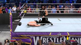 WWE 2K15 Roman Reigns Vs Brock Lesnar