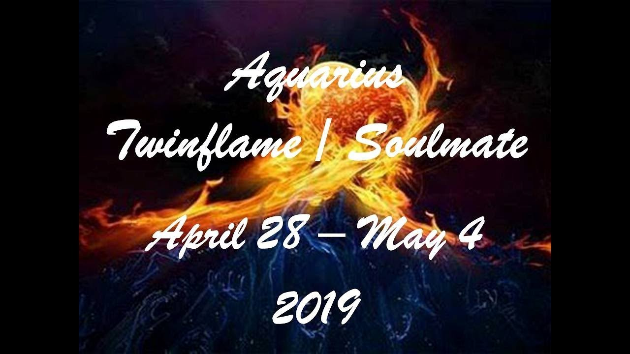 Aquarius April 28 - May 4 Twinflame/Soulmate 2019 - MAKING A VITAL DECISION!