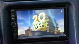 exhibition radio, player MP5 7018B 2DIN in Mercedes-Benz CLK-clase W208 MF