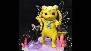Мастер класс игрушка из полимерной глины (Сейлор пикачу)