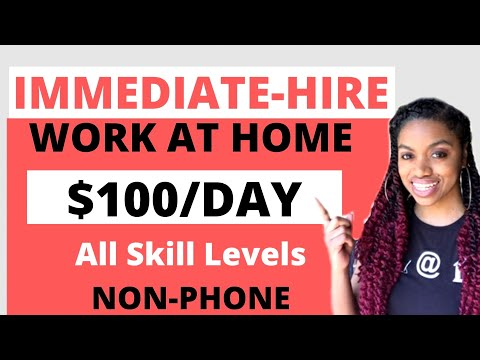 5 Work From Home Jobs That Pay $100 A Day Or More! Global & US Remote Jobs.