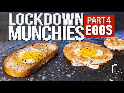 QUARANTINE (LOCKDOWN) MUNCHIES PART 4 – EGGS 🥚 | SAM THE COOKING GUY 4K