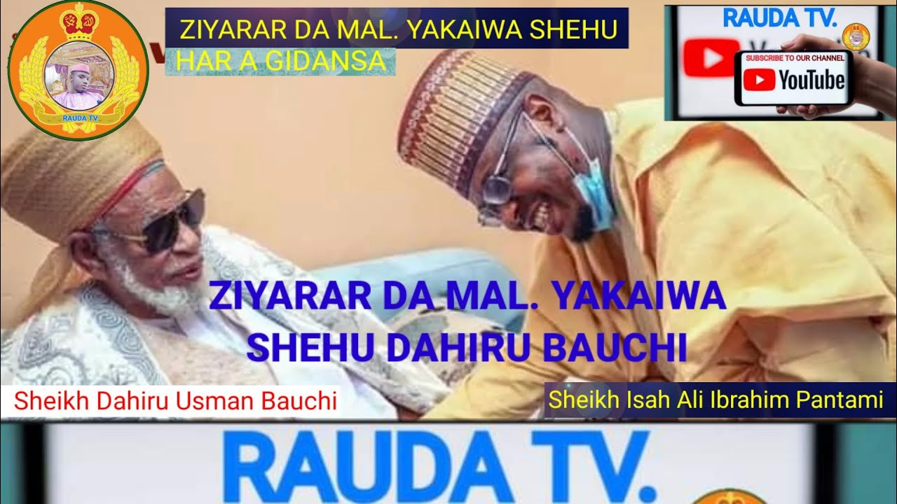Download Ziyarar Da MaL. Ya Kaiwa Shehu Dahiru Bauchi Har A Gidansa