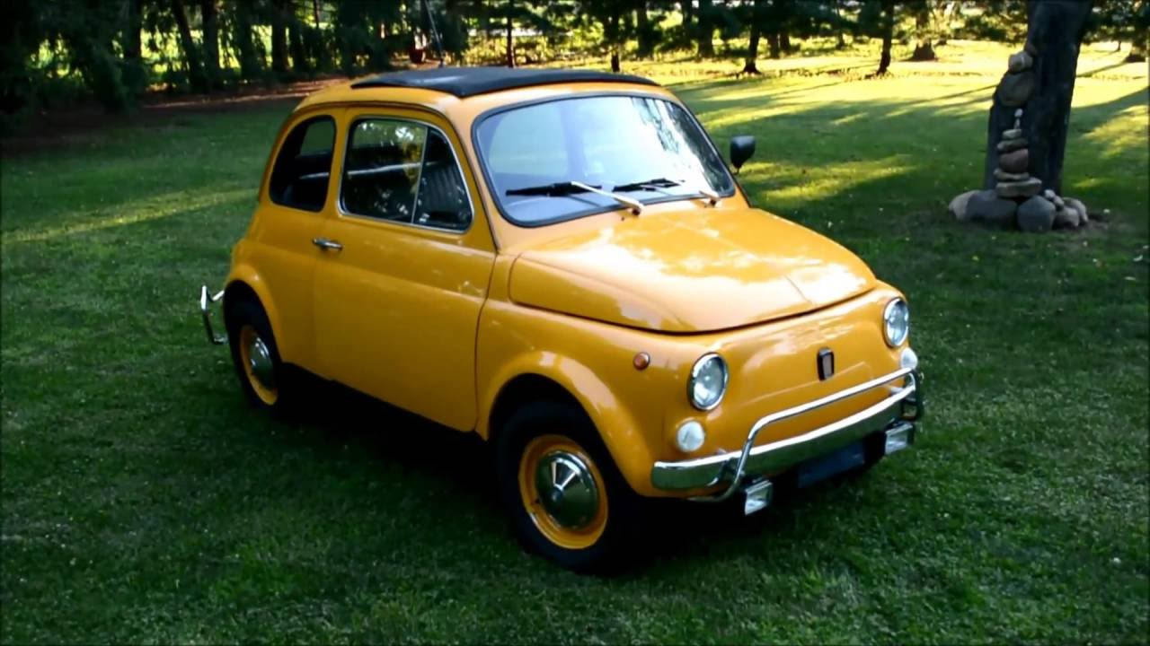 1971 Fiat 500l For Sale Restored 11900 Youtube 1970 500