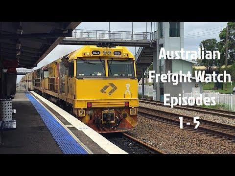 Australian Freight Watch Episodes 1 - 5