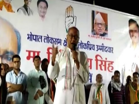 Caught on camera: Digvijaya Singh threatens officers of electricity department