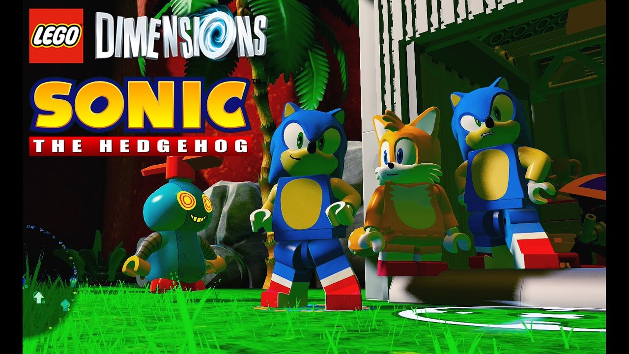 Lego Dimensions Sonic The Hedgehog World Live Stream Youtube