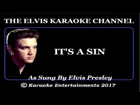 The Country Side Of Elvis Karaoke It's A Sin