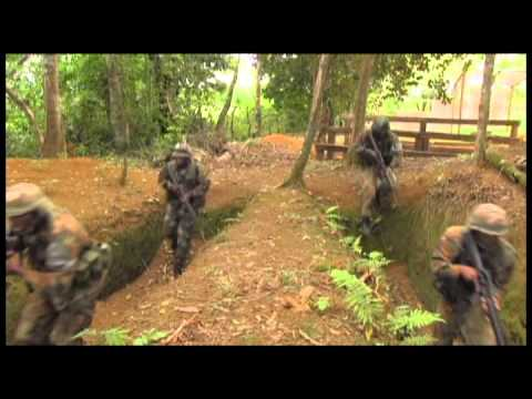 The Jamaica Defence Force Infantry