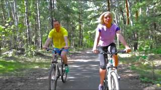 Stock Footage - Cycling Couple | VideoHive