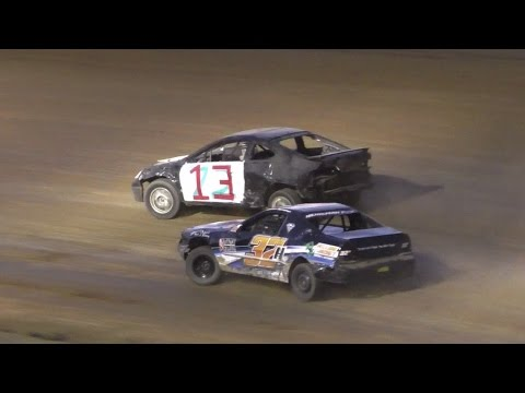 Mini Stock Heat One | McKean County Raceway | Fall Classic | 10-15-16