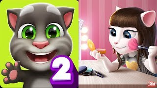 Enjoy This Video: My Talking Tom 2 - My Talking Angela Gameplay Gre...