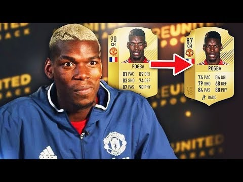What Football Players RATED themselves VS their ACTUAL RATING (Fifa 18 Official Ratings)