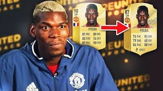 What Football Players RATED themselves VS their ACTUAL RATING (Fifa 18 Official Ratings) thumbnail