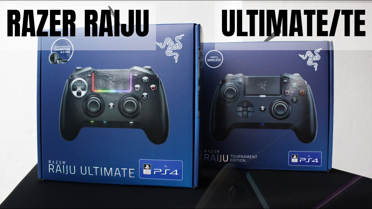 [ UNBOXING + LIGHTING FEATURE ] - RAZER RAIJU ULTIMATE/TE