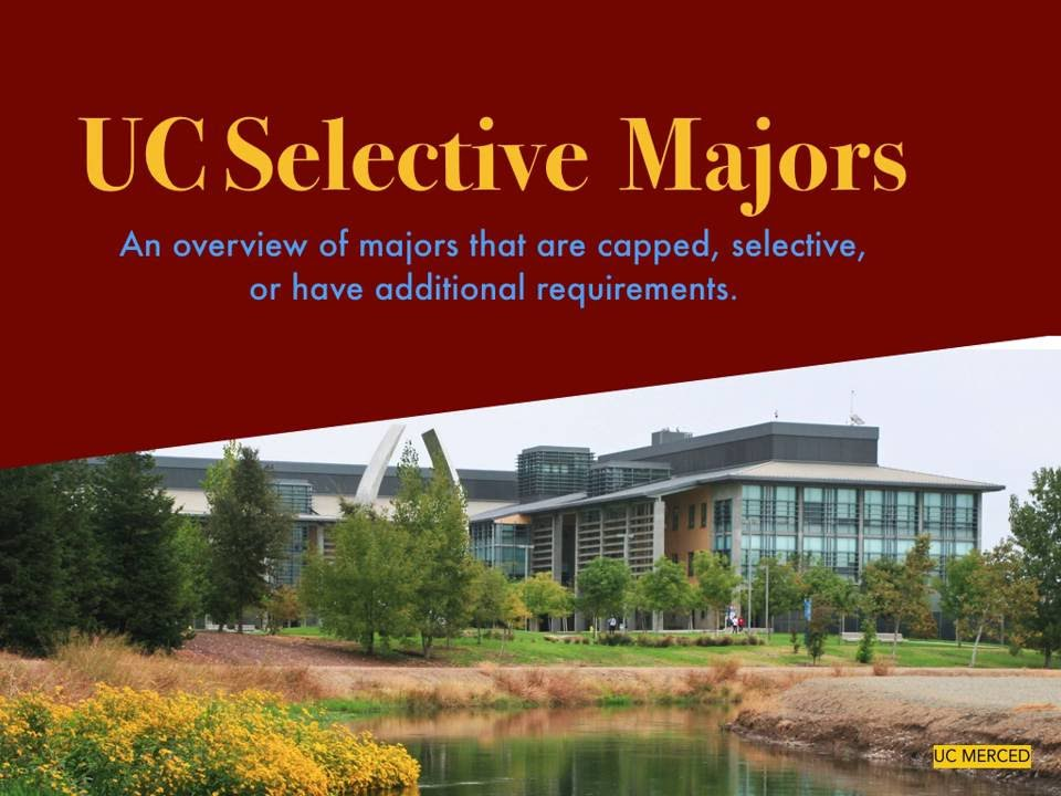 Selective and Capped Majors at Each UC