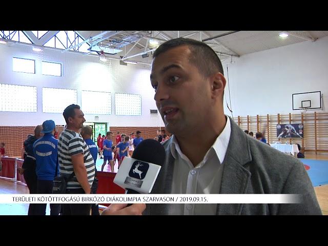 Birkózó diákolimpia Szarvason (2019.09.15)