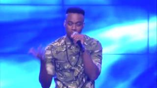 Idols South Africa 2013 Innocent is also interpreting a Coldplay song but he