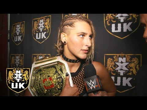 Rhea Ripley plans on being NXT UK Women's Champion for a long time: Exclusive, Dec. 19, 2018
