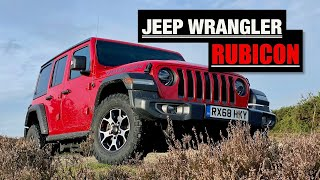 homepage tile video photo for 2020 Jeep Wrangler Rubicon Review: Inheriting the Land Rover Defender's Throne - Inside Lane