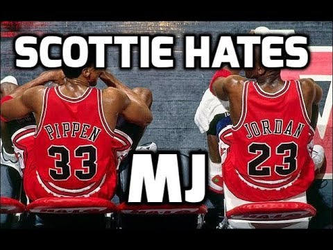 Why Scottie Pippen HATES MJ