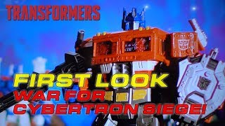 Transformers War for Cybertron Siege Commercial Sizzle Reel