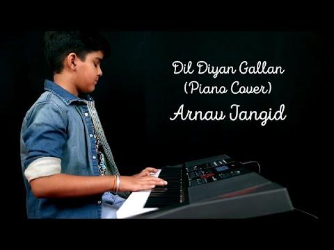 Dil Diyan Gallan (Piano Cover)| Tiger Zinda Hai | Salman Khan | Atif Aslam