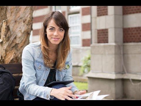 Anna-Marie Milerska (Czech Republic) Studying at National Taiwan Normal University