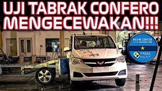 Download Video UJI TABRAK RESMI WULING CONFERO ASEAN NCAP CUMA BINTANG SATU MP3 3GP MP4