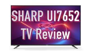 Sharp UI7652 TV Review   Comparison with Panasonic GX800