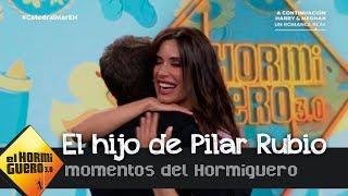 Pilar Rubio regresa a 'El Hormiguero 3.0' y enseña, por primera vez, una foto de su hijo Alejandro