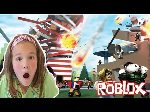 Roblox Natural Disaster! 2 Disasters At Once! New Update