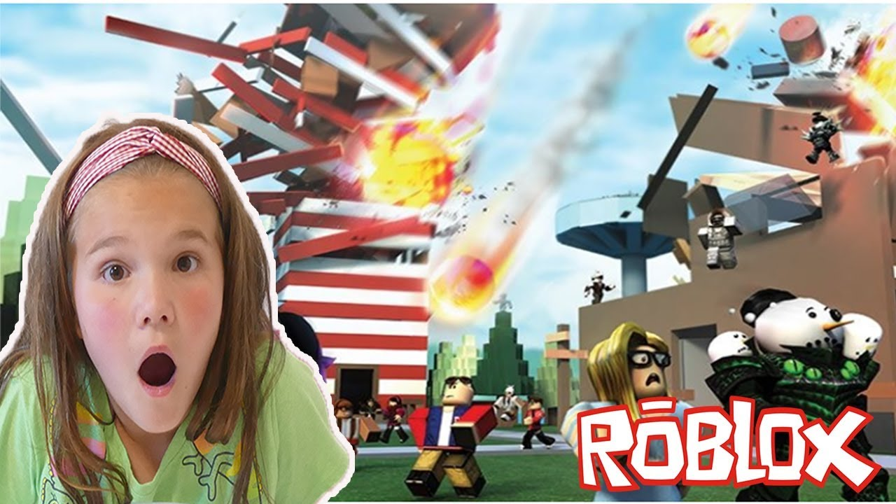 Roblox Natural Disaster 2 Disasters At Once New Update Youtube
