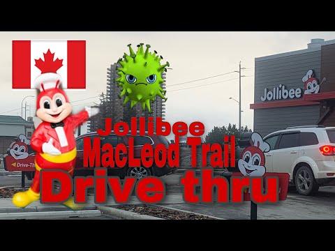 Jollibee MacLeod Trail In Calgary Open Despite Of Coronavirus