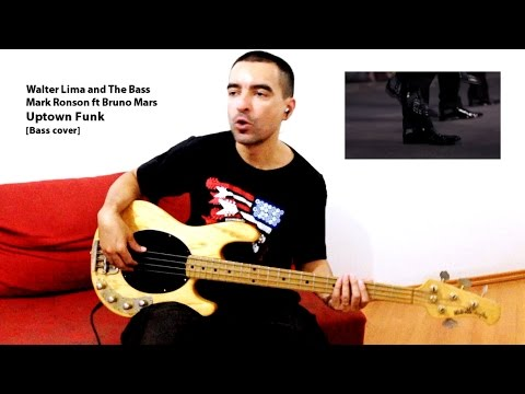 Mark Ronson ft Bruno Mars - Uptown Funk [Bass cover]