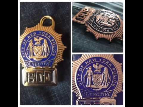 Nypd detective shield
