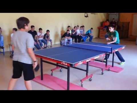 5ο Γυμνάσιο Κατερίνης Τελικός Πρωταθλήματος Πινγκ-Πονγκ  2013
