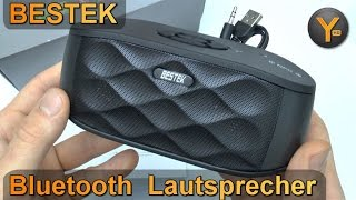 Review: Bestek Bluetooth Multimedia Lautsprecher / USB / microSD / 3,5mm Audio / FM Radio / NFC