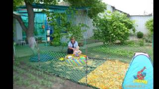 Вот такие детские площадки своими руками можно сделать для деток на даче