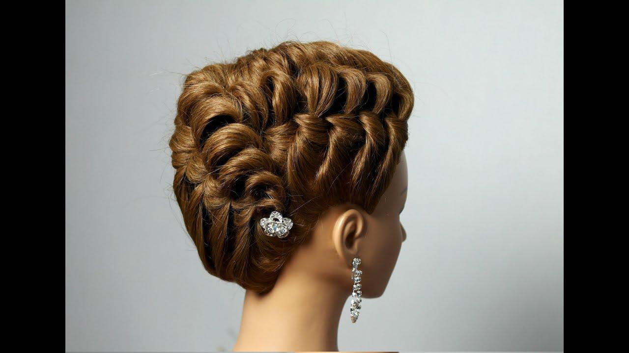 elegant hairstyle long medium