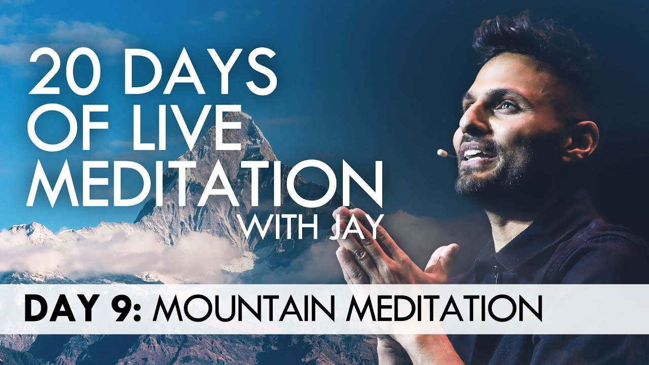 20 Days of Live Meditation with Jay Shetty: Day 9 - YouTube