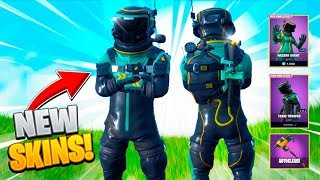 NEW FORTNITE SKIN! TOXIC TROOPER & HAZARD AGENT (Fortnite Battle Royale)