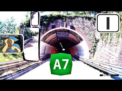 Italia. A7. [ ✕ A50 (Milano) - Genova ]