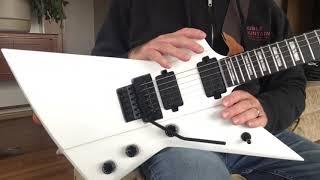 Solar E1.6 Priestess guitar unboxing/demo/review